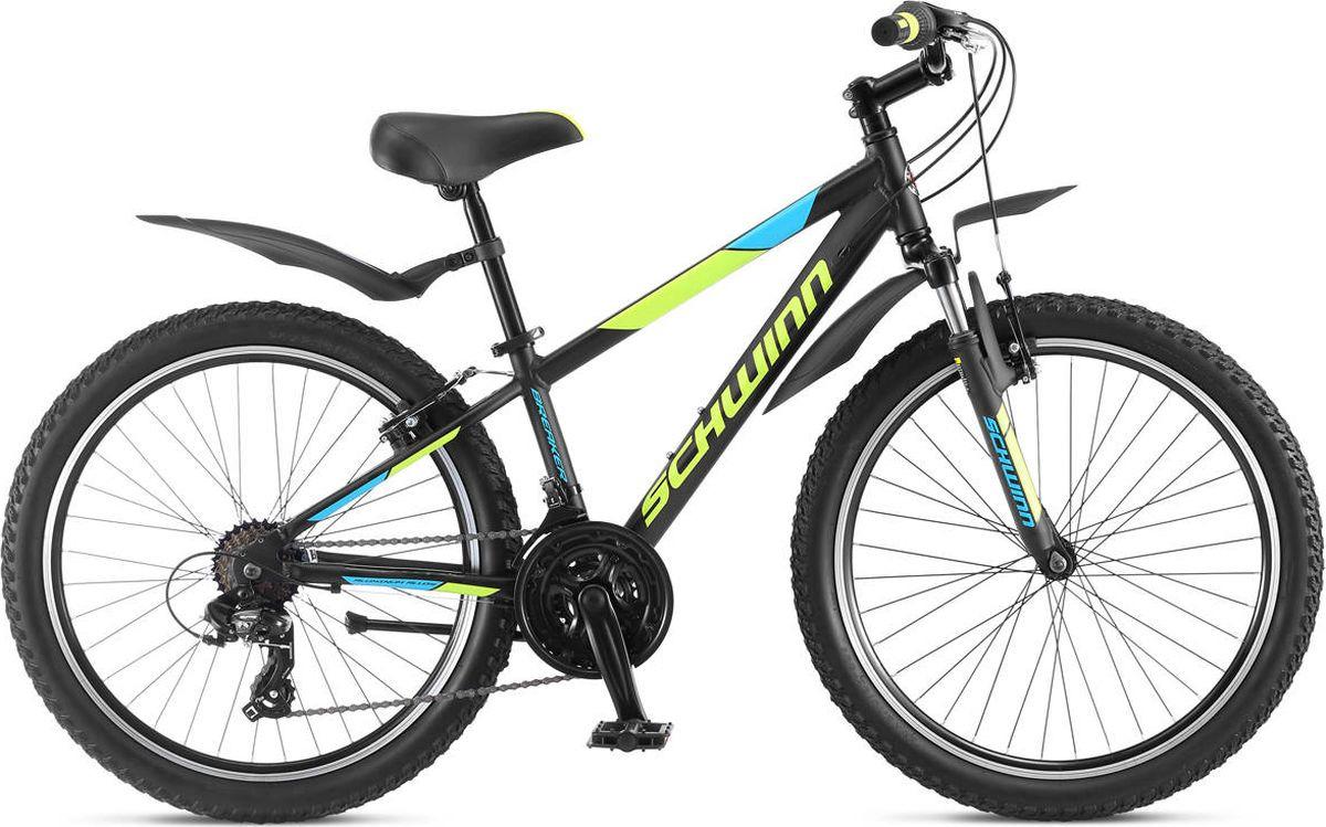 Велосипед детский Schwinn Breaker 24, черный, 21 скорость