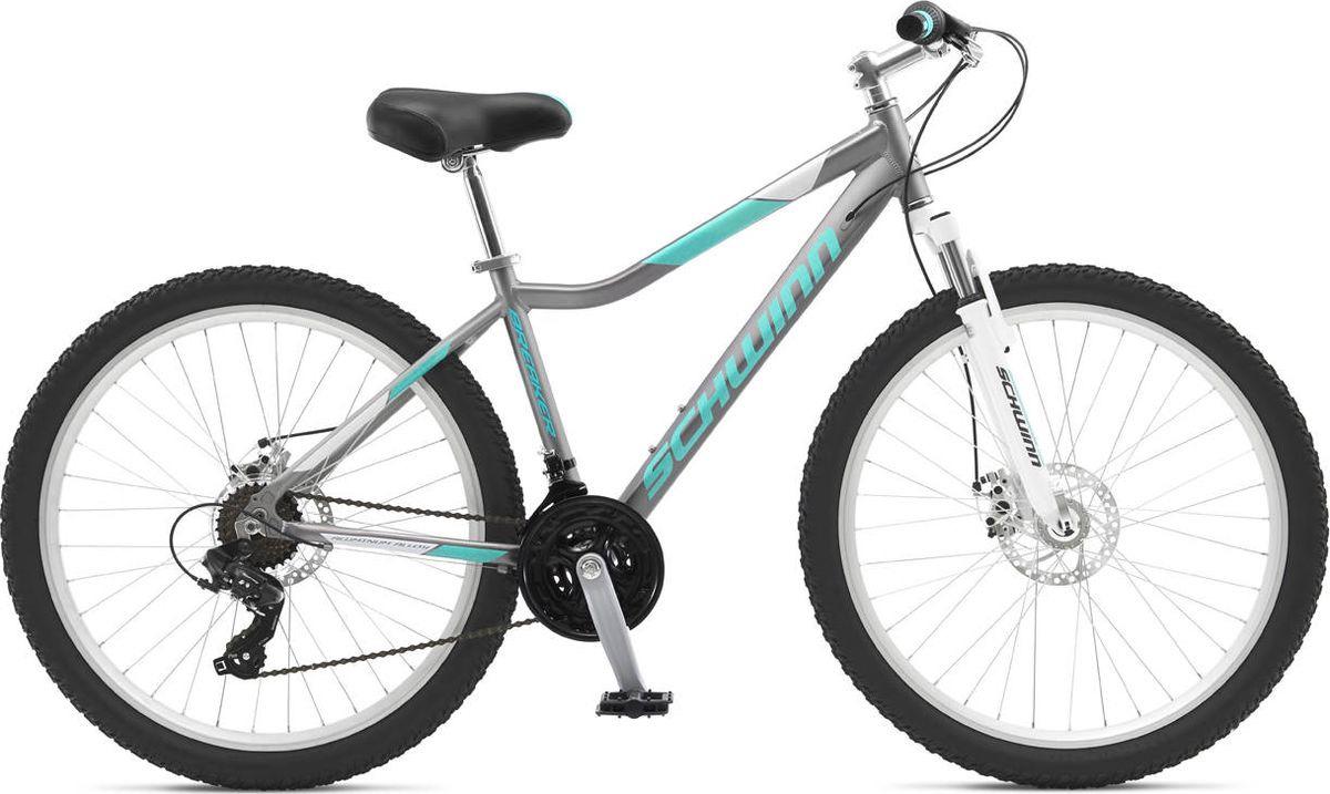 Велосипед горный Schwinn Breaker Womens, серый, 21 скорость тормоза для велосипеда avid elixir e1