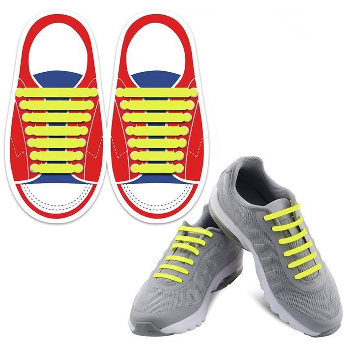 Шнурки Lumo LM-SLS-02, желтый шнурки markclub силиконовые для обуви shn 1909 синий