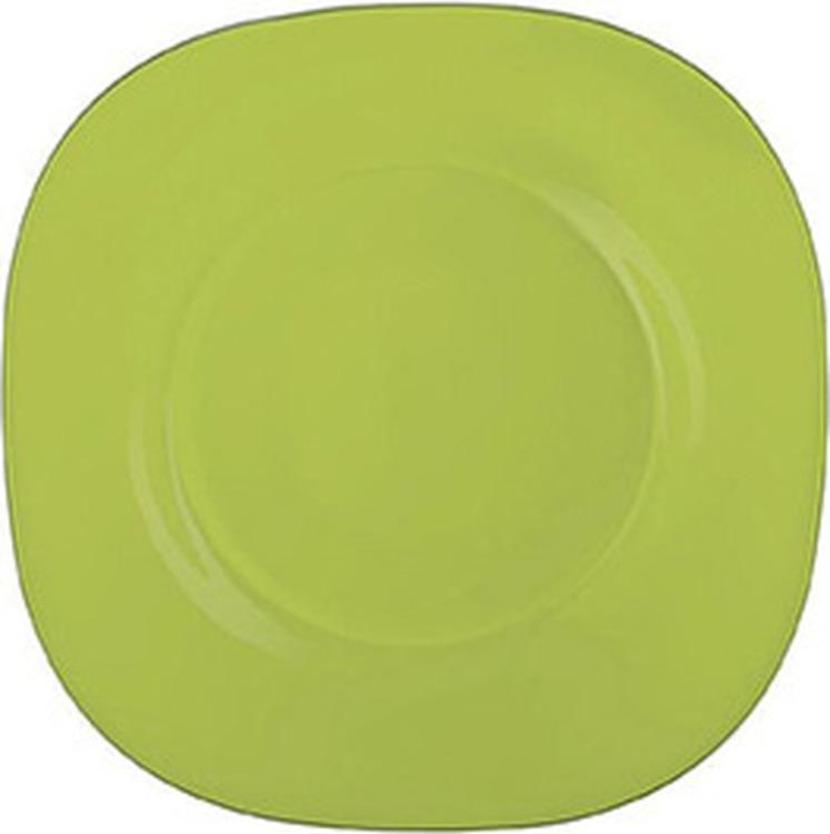 Тарелка десертная Luminarc Колорама, J7763, зеленый, диаметр 19 см цены онлайн