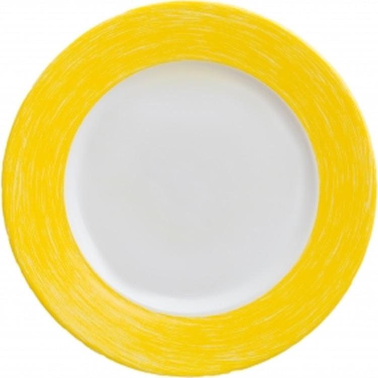 Тарелка десертная Luminarc Колор Дэйс, L1521, желтый, диаметр 19 см цены онлайн