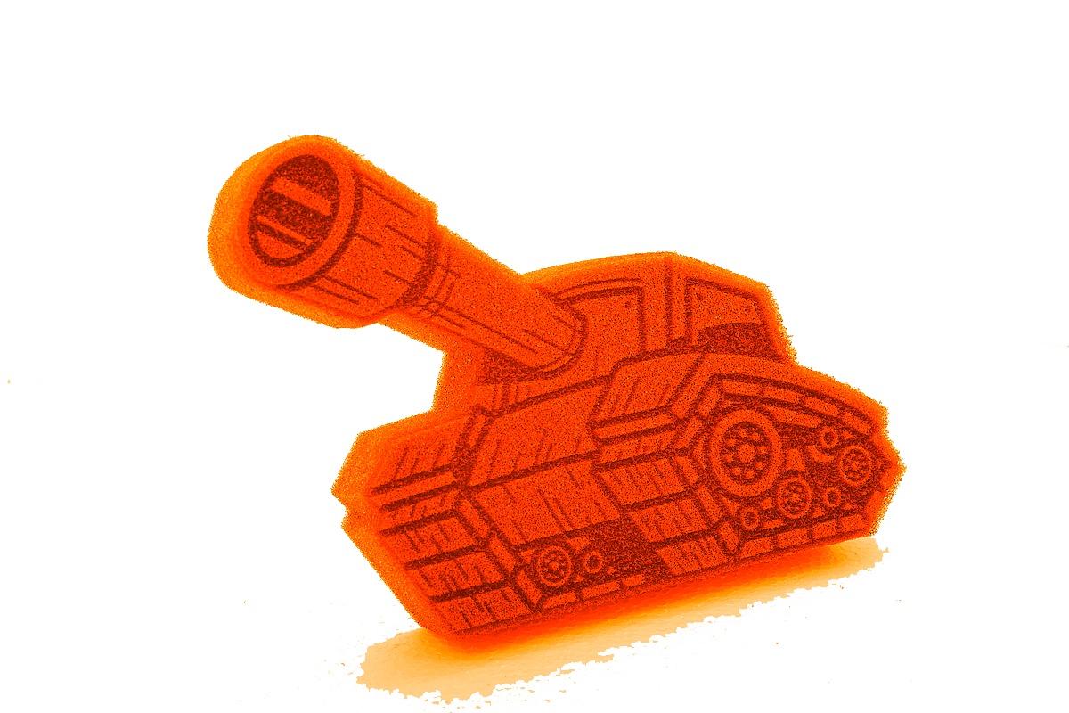 Танк Мягкий Нянь ГБСВ оранжевыйХГ001Для чего нужны губки игрушки?1. Использовать для мытья детей;2. В качестве недорогой игрушки;3. Для развития моторики. Наша продукция рекомендована врачами. Материал - пенополиуретан. Цвет в ассортименте.