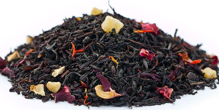 Чай листовой Gutenberg Высший свет, черный, 500 г цена и фото
