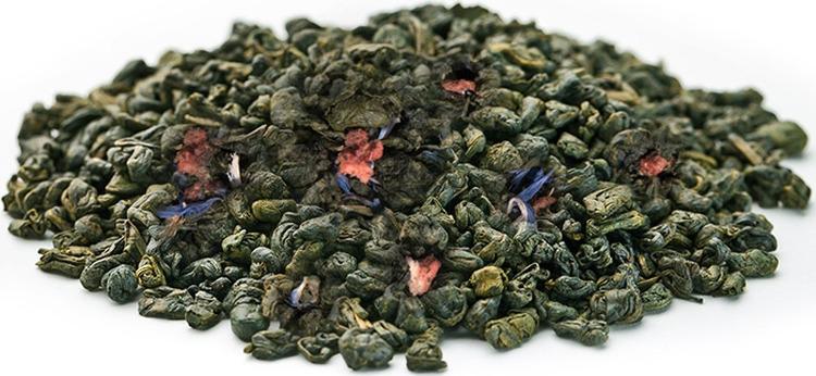 Чай листовой Gutenberg Клубничный десерт, улун, 500 г teacher женшеневый улун чай листовой 500 г