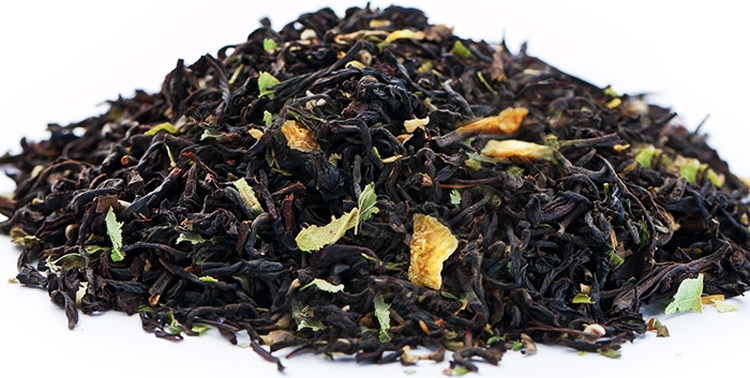 Чай листовой Gutenberg Двенадцать месяцев, черный, 500 г домашняя кухня цедра лимона 20 г