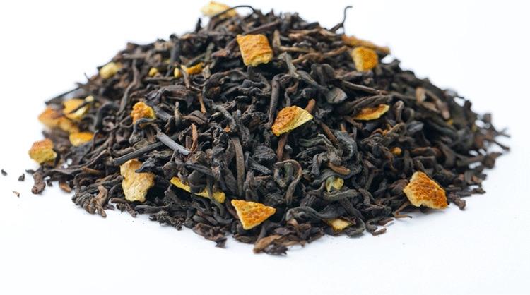 Чай листовой Gutenberg Апельсиновый, пуэр, 500 г домашняя кухня цедра апельсина 20 г