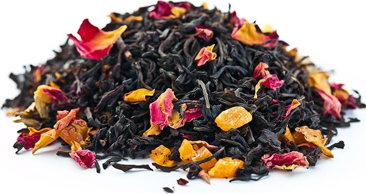 Чай листовой Gutenberg Ноктюрн, черный, 500 г цена и фото