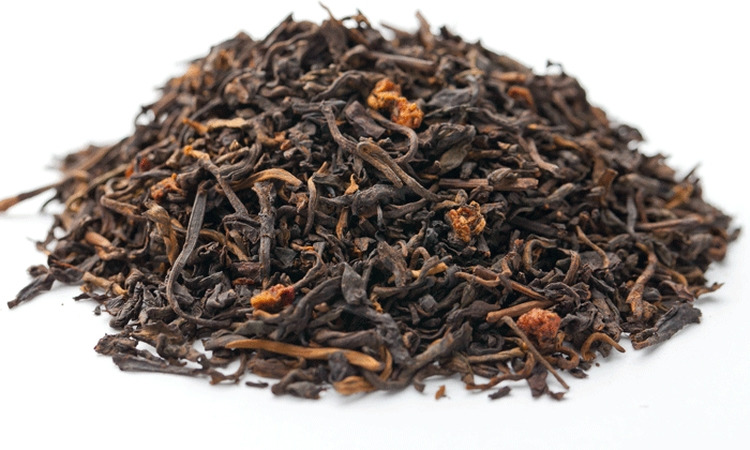 Чай листовой Gutenberg Земляничный десерт, пуэр, 500 г чай листовой gutenberg tо ча императорский пуэр прессованный 500 г