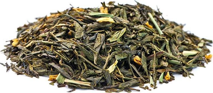 Чай листовой Gutenberg Лимонный крем с женьшенем, зеленый, 500 г