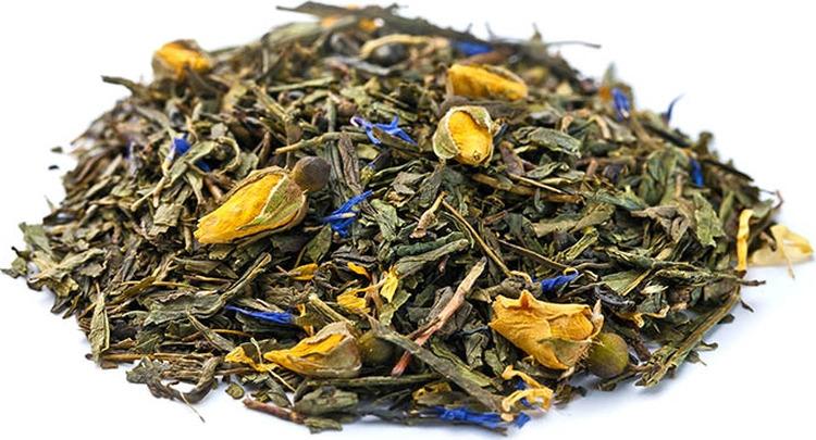 Чай листовой Gutenberg Роза Парижа, зеленый, 500 г чайная добавка мей гуй хуа бао бутоны роз 50 г