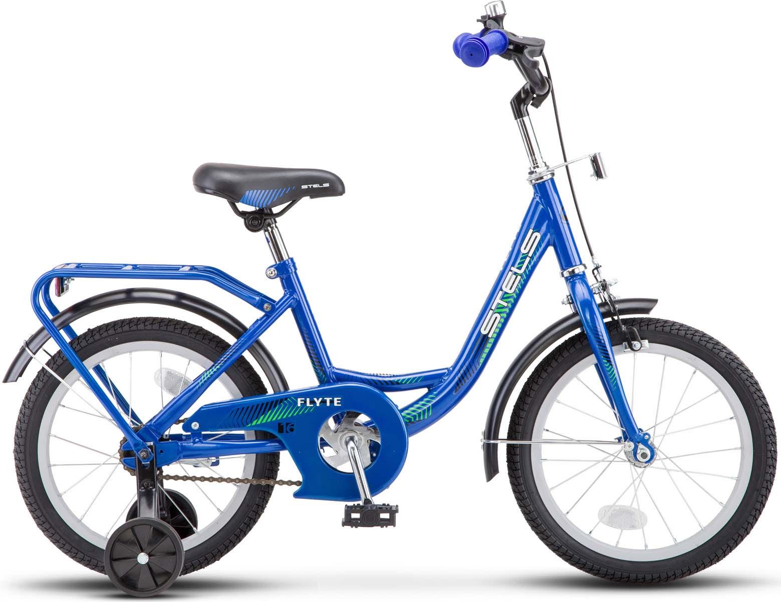 Велосипед Stels Flyte 16, JU000191922018, синий недорго, оригинальная цена