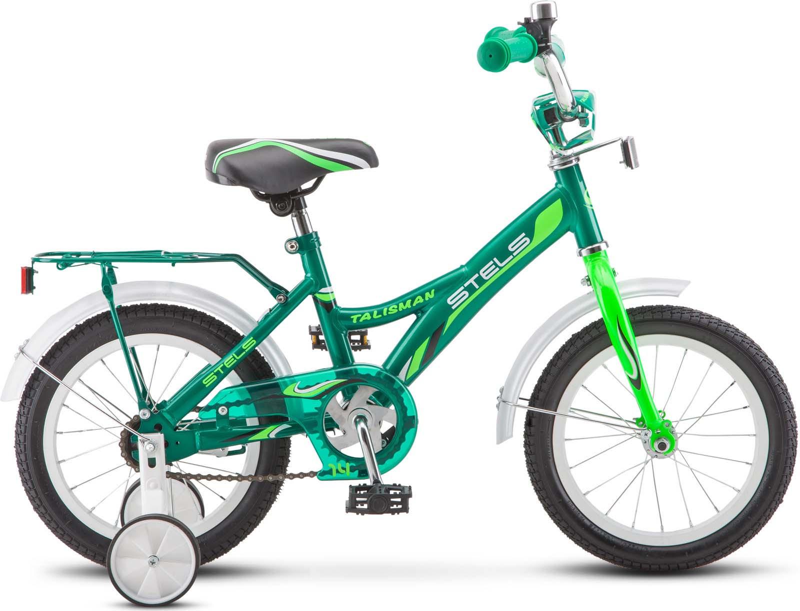 Велосипед Stels Talisman 14, JU000182422018, зеленый