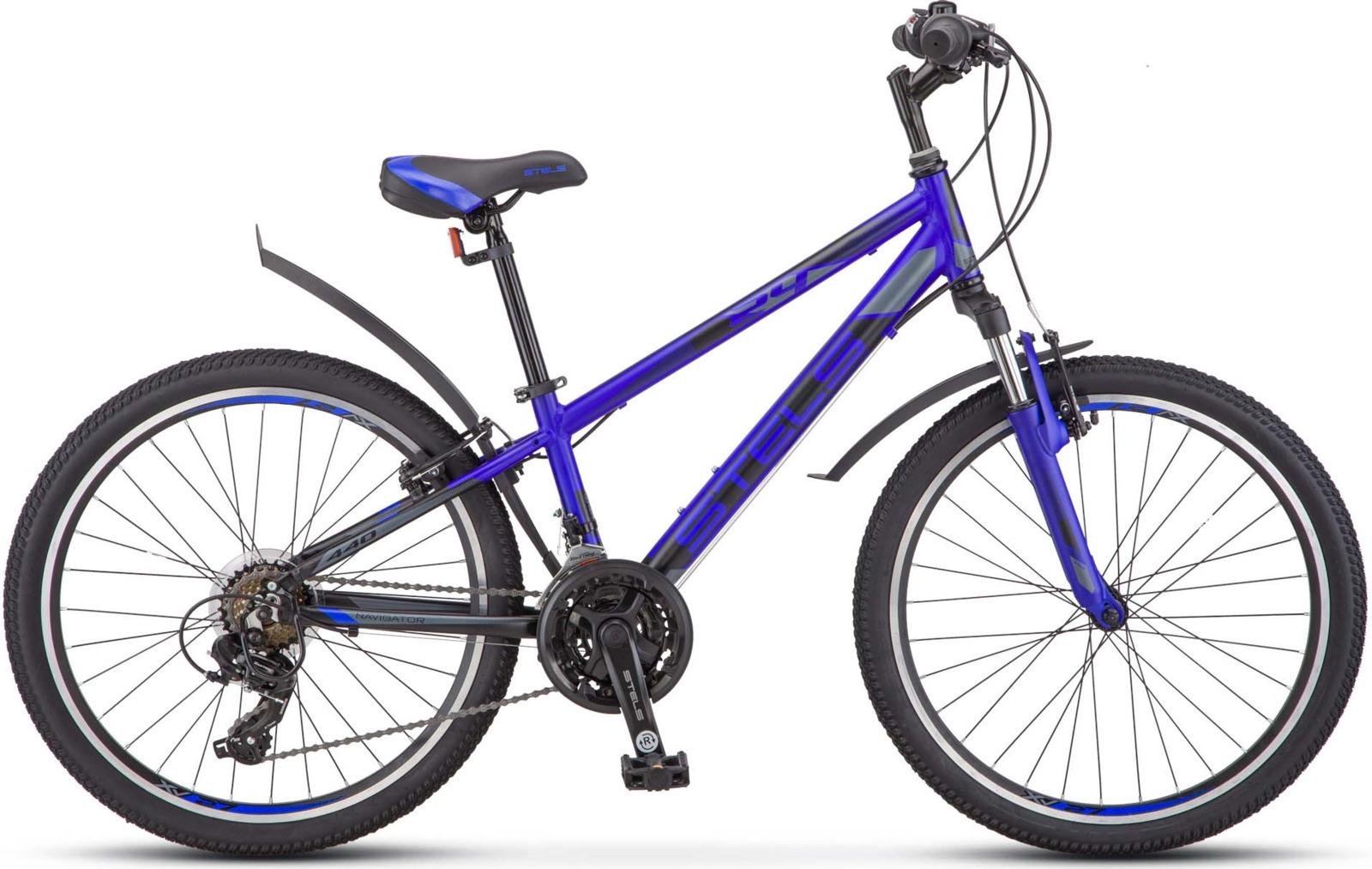 Велосипед Stels Navigator-440 V 13, KUBC0049812018, синий велосипед stels navigator 610 v v030 2018