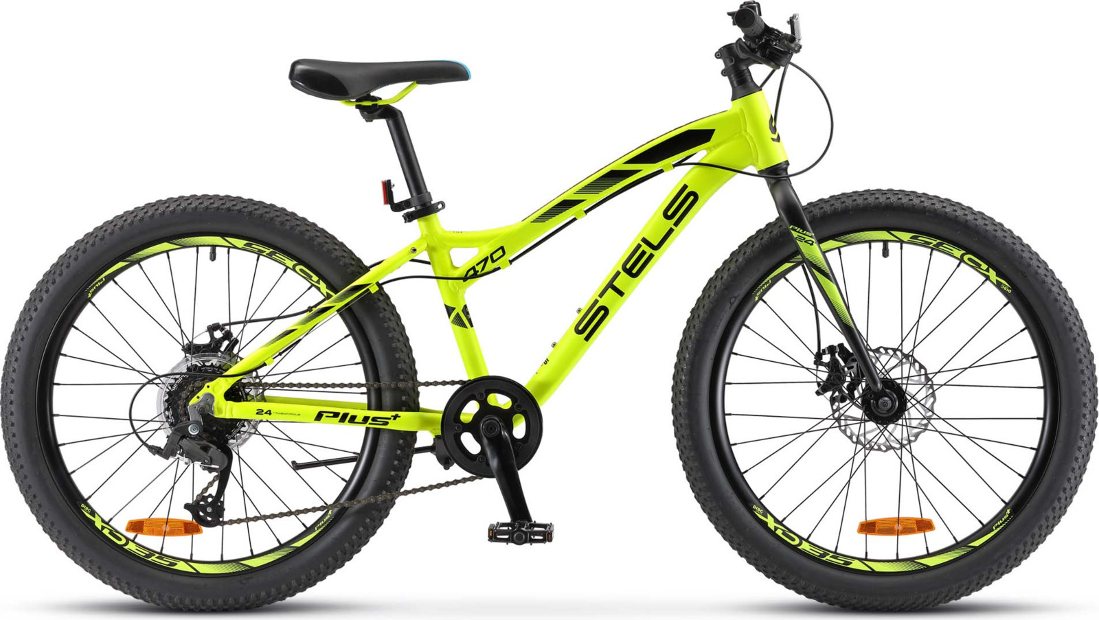 Велосипед Stels Navigator-470 MD 24, KUBC0047622018, зеленый