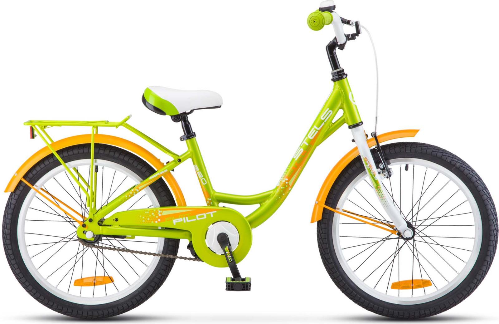 Велосипед Stels Pilot-220 Lady 20 12, KUBC0045312017, зеленый недорого