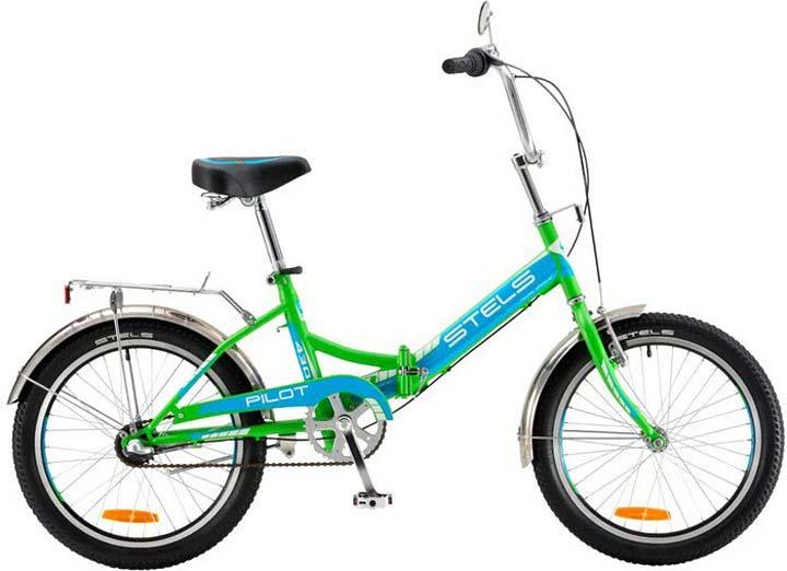 все цены на Велосипед Stels Pilot-430 15, LU067560, зеленый, голубой онлайн