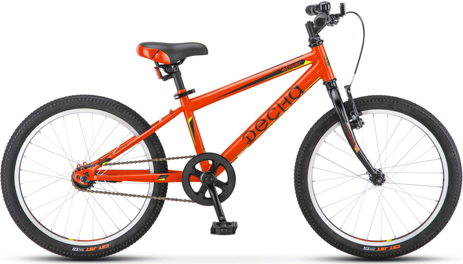 Велосипед Stels Десна Феникс 11, KUBC0045612017, оранжевый