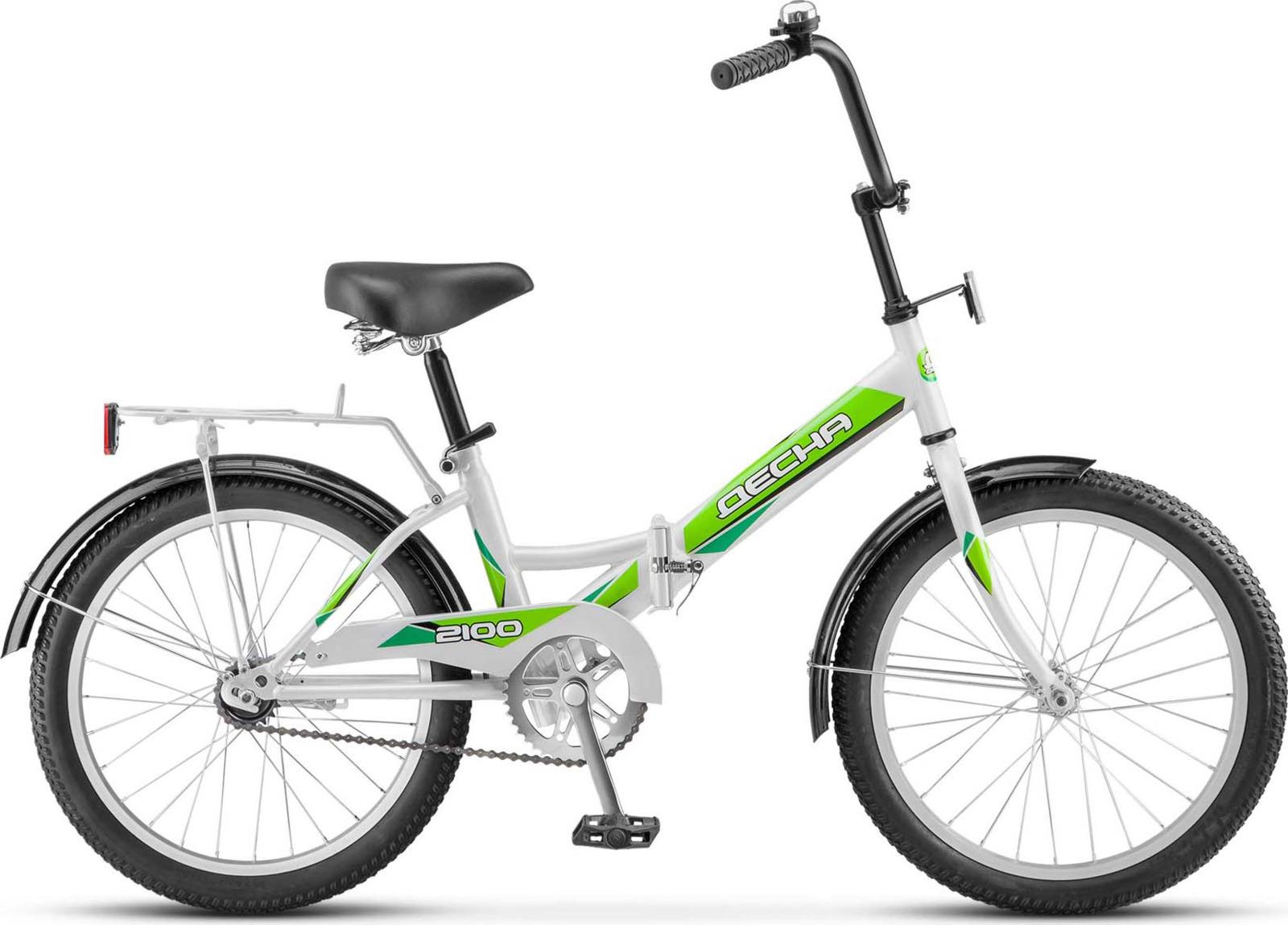 Велосипед Stels Десна-2100 13, LU073253, зеленый