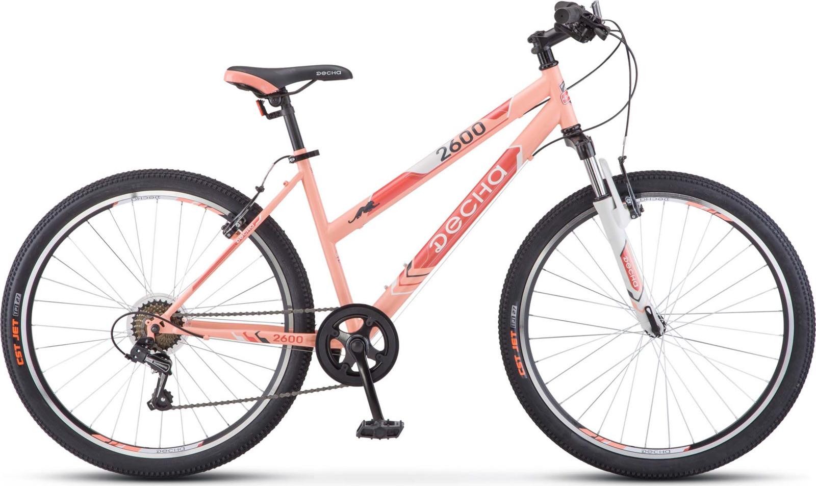 Велосипед Stels Десна-2600 V 26, KUBC0045262017, оранжевый