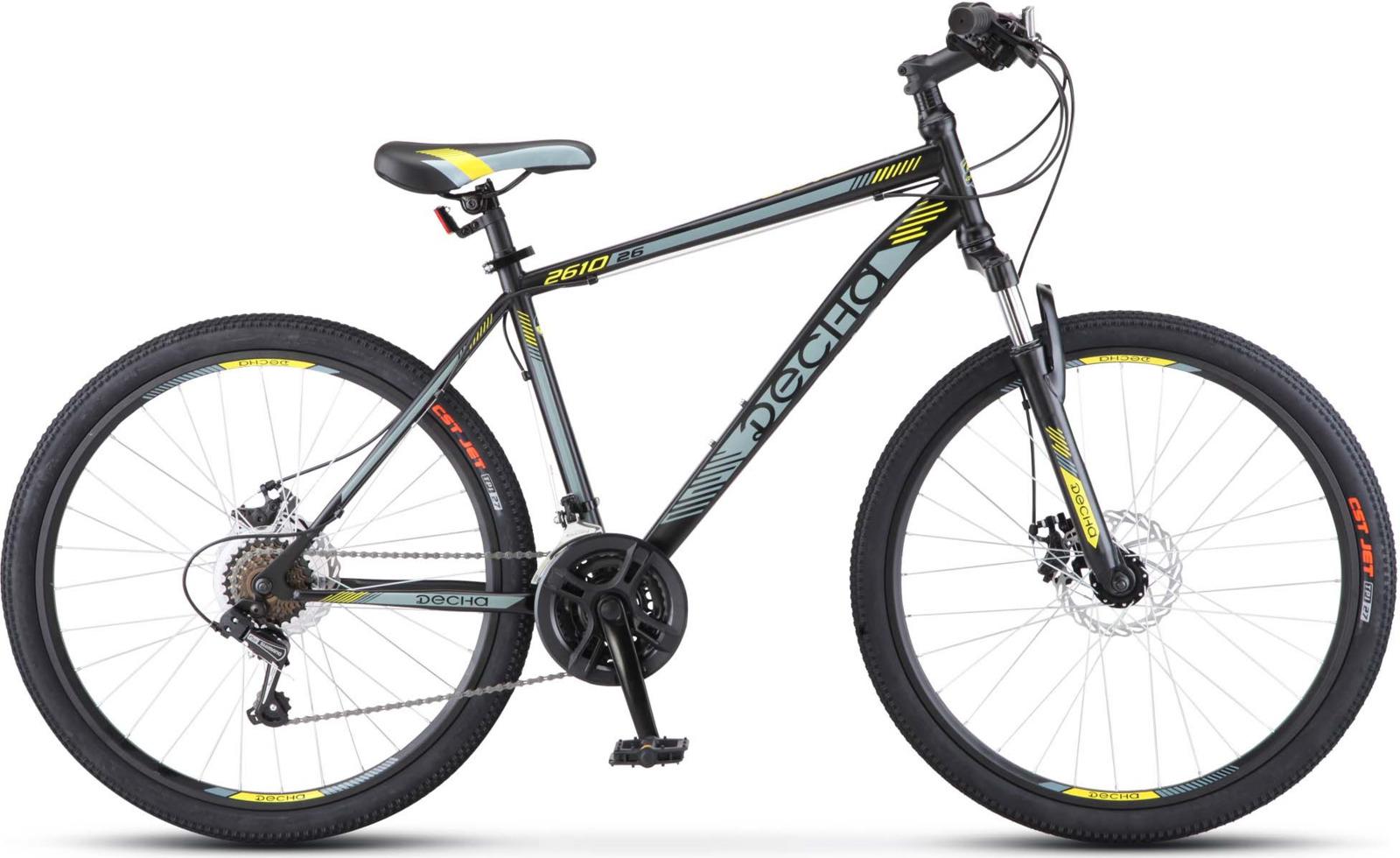 Велосипед Stels Десна-2610 MD 26, KUBC0045582017, черный