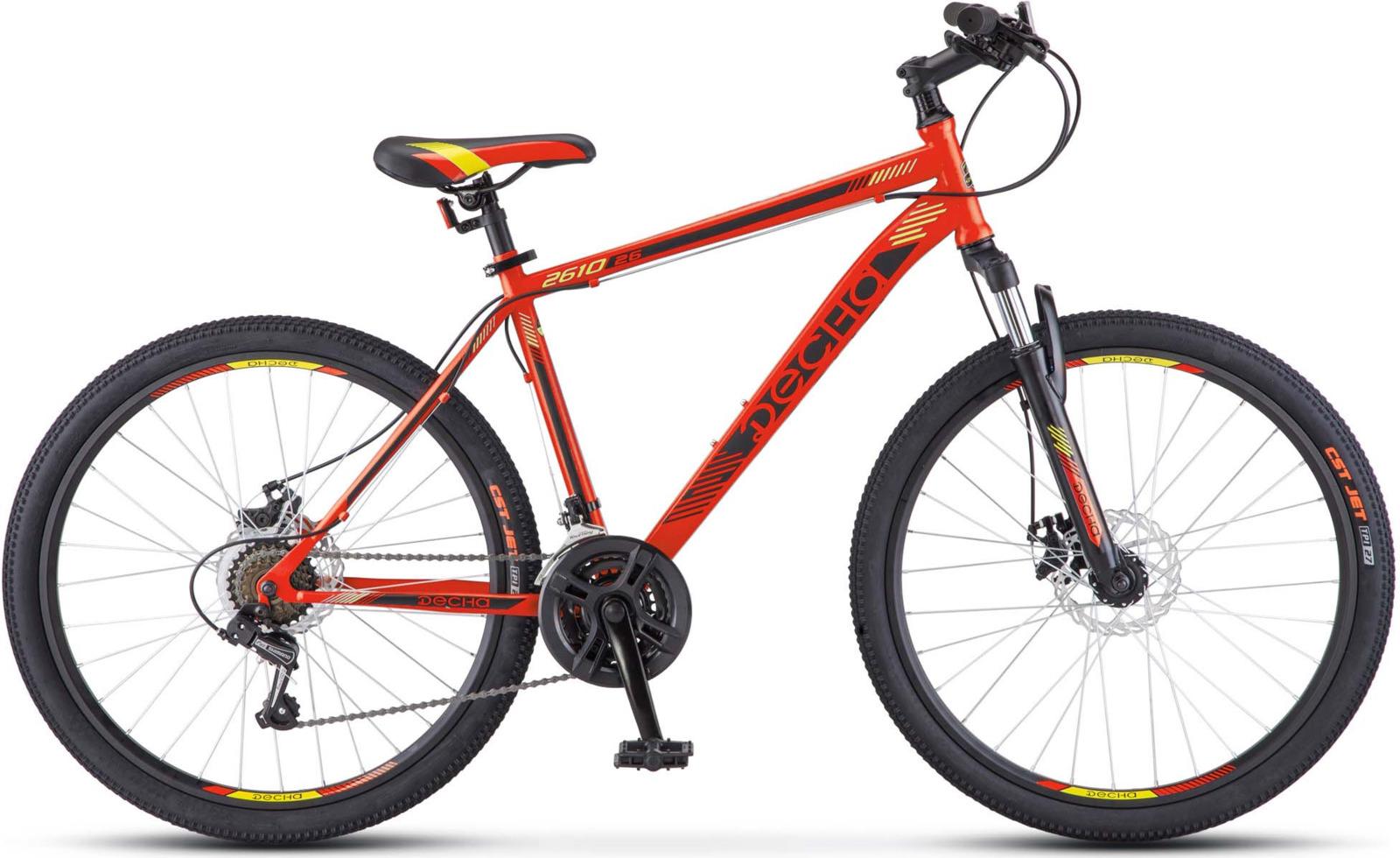Велосипед Stels Десна-2610 MD 26, KUBC0045532017, красный