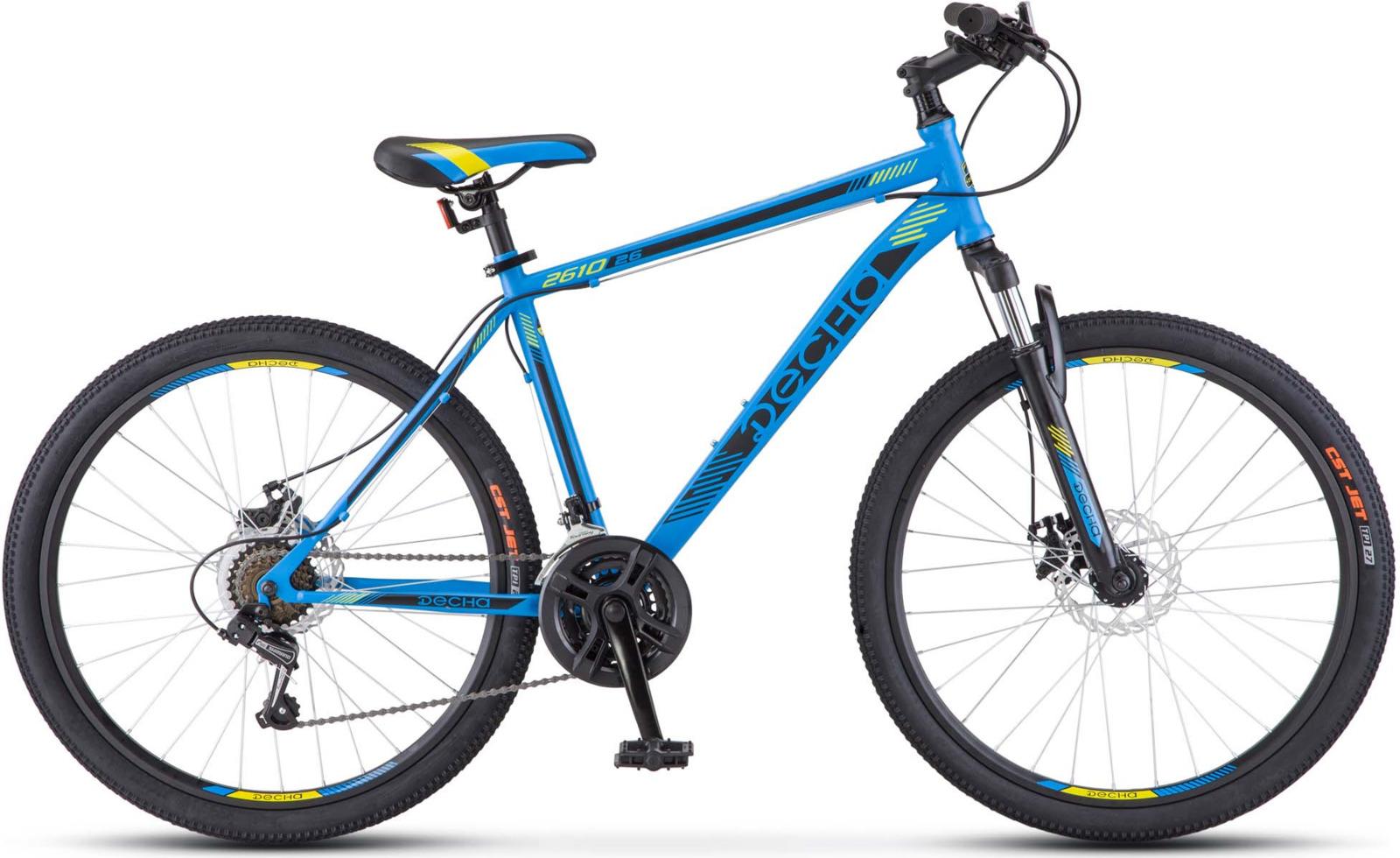 Велосипед Stels Десна-2610 V 26, KUBC0044802017, синий