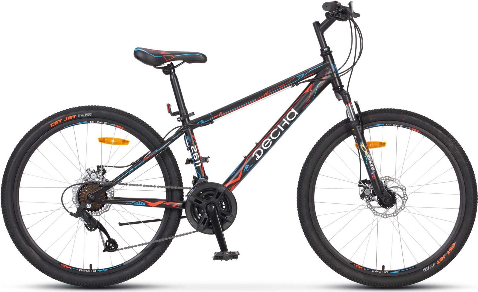 Велосипед Stels Десна-2611 MD 17, KUBC0047062018, черный
