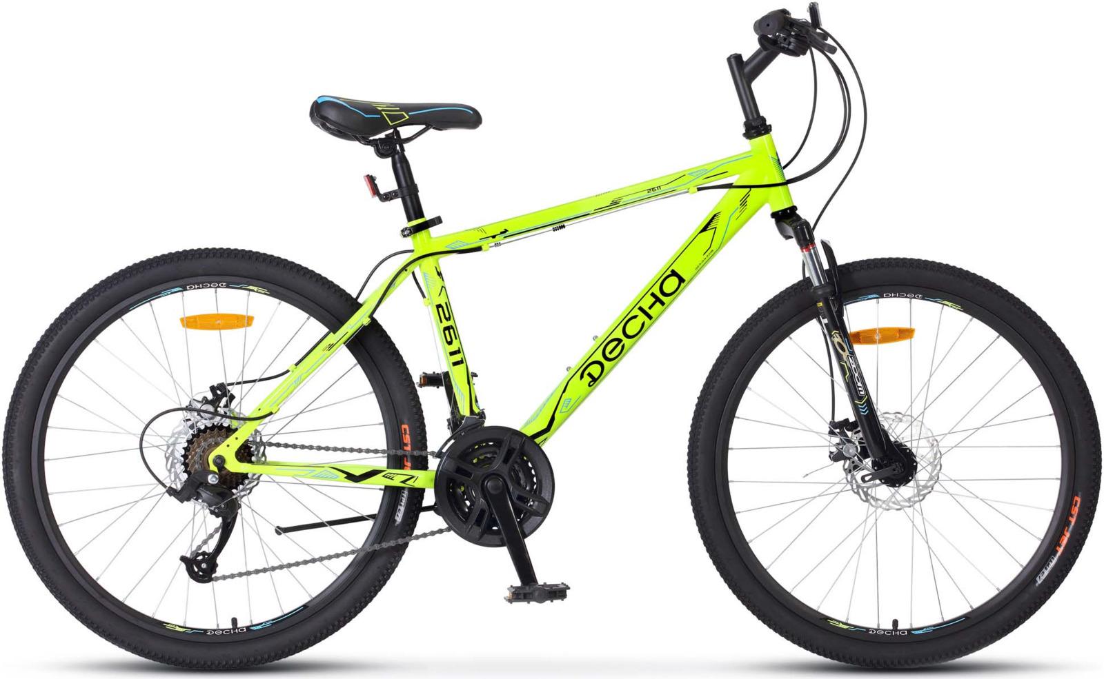 Велосипед Stels Десна-2611 MD 26, KUBC0047082018, желтый