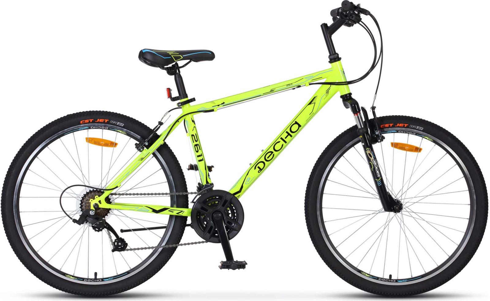 Велосипед Stels Десна-2611 V 19, KUBC0047172018, желтый цены