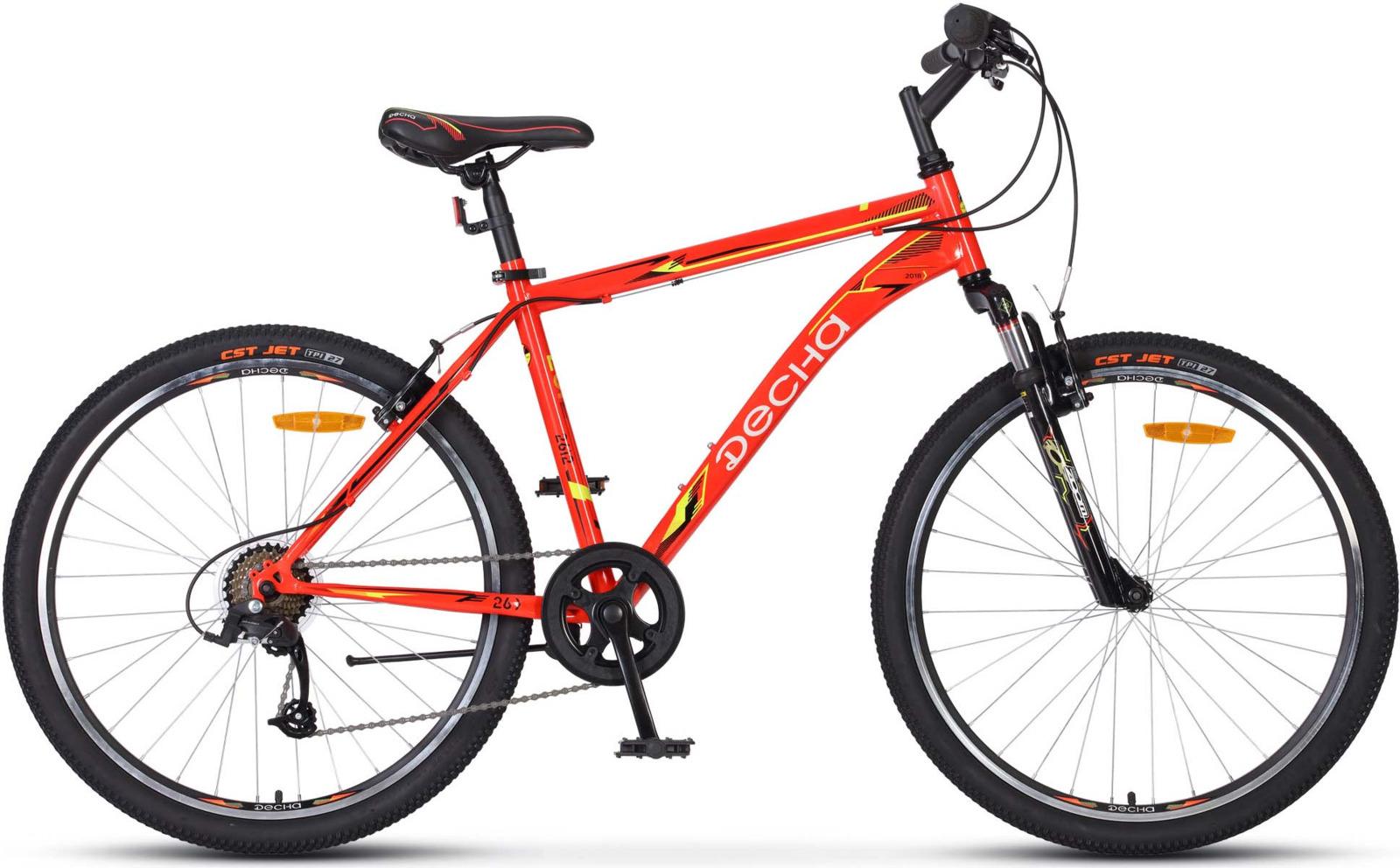 Велосипед Stels Десна-2612 V 18, KUBC0047292018, красный