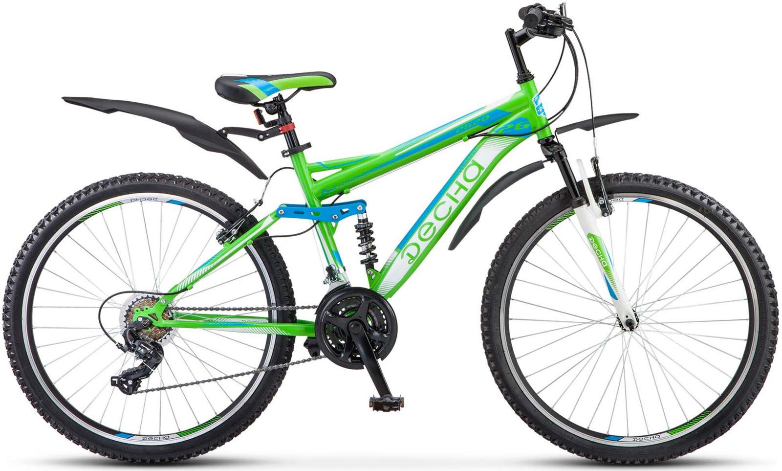 Велосипед Stels Десна-2620 V 16,5, LU071344, светло-зеленый