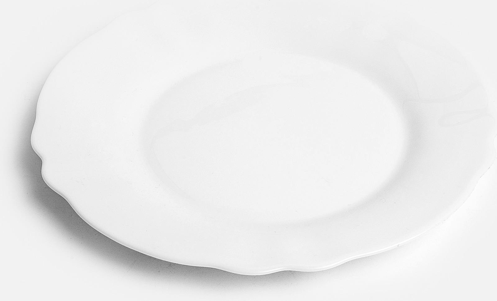 Тарелка десертная Luminarc Луи Xv, J7333, белый, диаметр 19 см тарелка luminarc луи xv 24см обеденная стекло