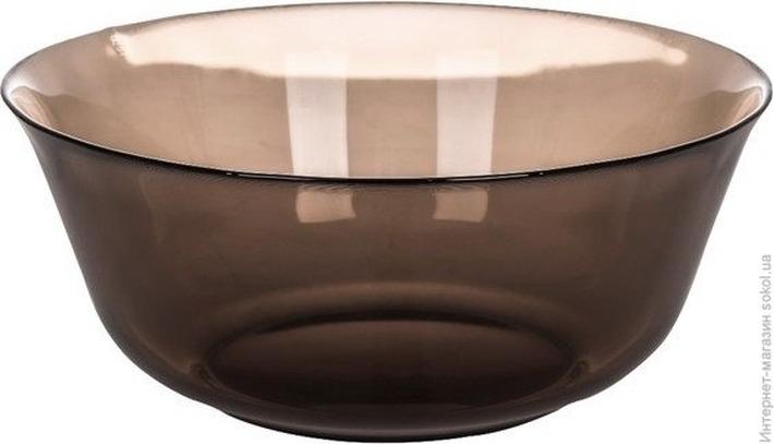 Салатник Luminarc Амбьянте Эклипс, L5175, коричневый, диаметр 24 см салатник luminarc authentic black диаметр 24 см