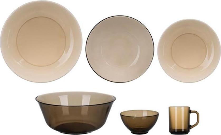 Набор столовой посуды Luminarc Амбьянте Эклипс, L5177, коричневый керамическая плитка для ванной eclipse indigo эклипс
