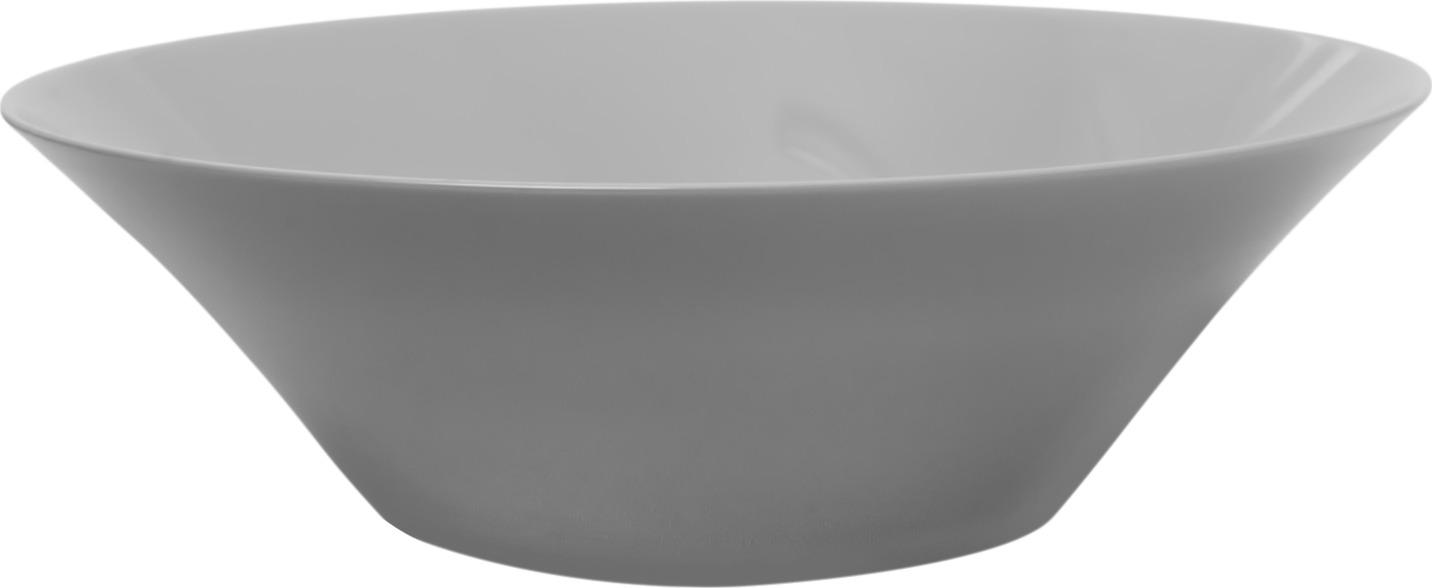 Салатник Luminarc Ализе Гранит, L7077, белый, диаметр 29 см
