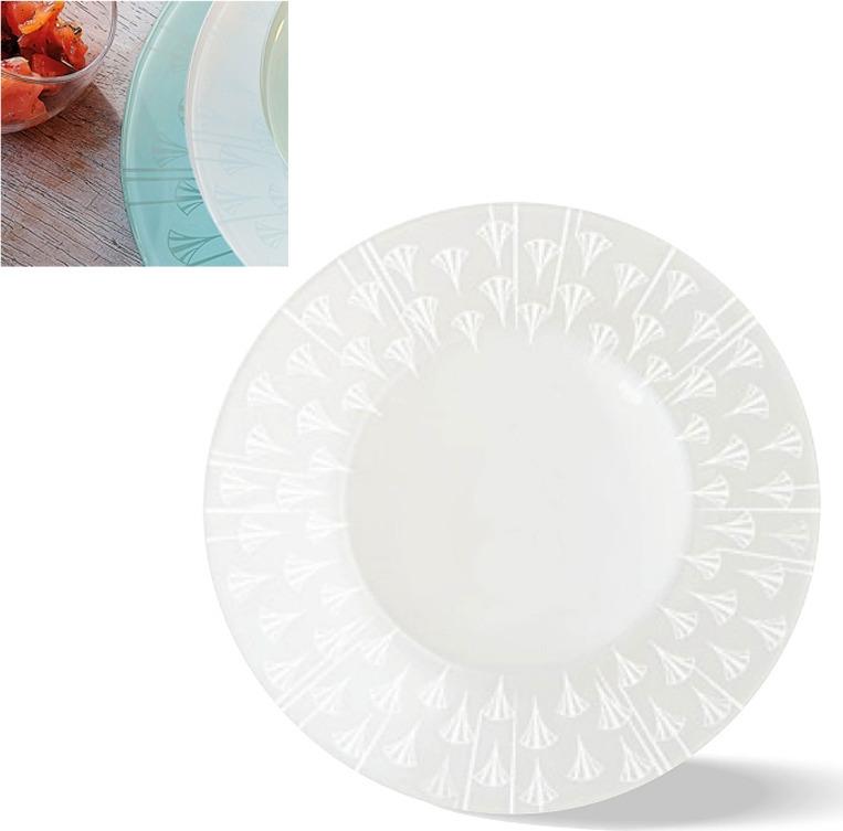 Тарелка глубокая Luminarc Эклис, L8181, белый, диаметр 23 см тарелка глубокая luminarc ализэ перл n4836 белый диаметр 23 см