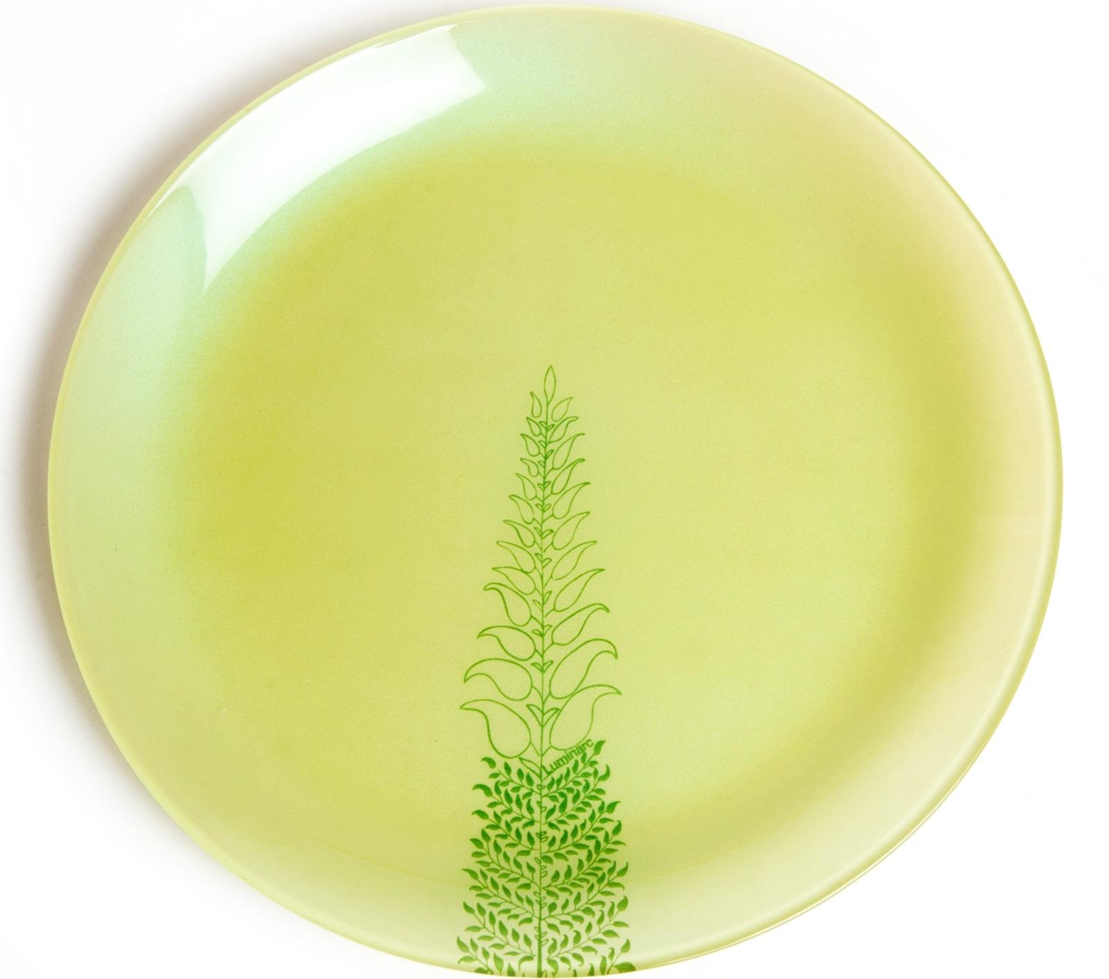 Тарелка десертная Luminarc Симпли Лобелия, L8362, светло-зеленый, диаметр 20.5 см