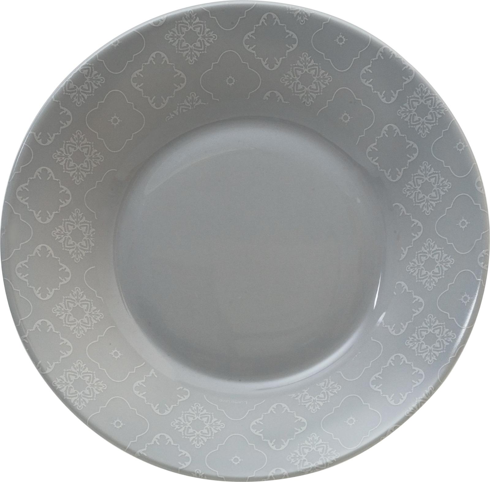 Тарелка глубокая Luminarc Калико, L8371, белый, диаметр 23 см тарелка глубокая luminarc ализэ перл n4836 белый диаметр 23 см