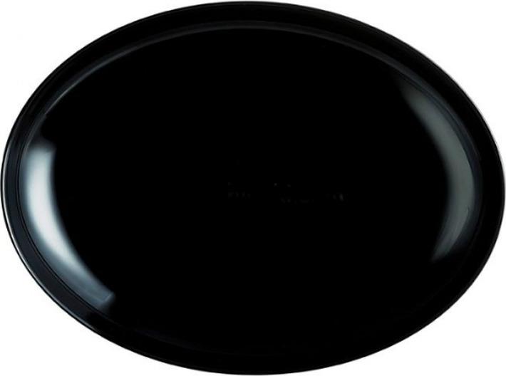 Тарелка Luminarc Френдс Тайм Блэк, M0065, разноцветный блюдо д пасты luminarc френдс тайм блэк декор кругл 29см стекло
