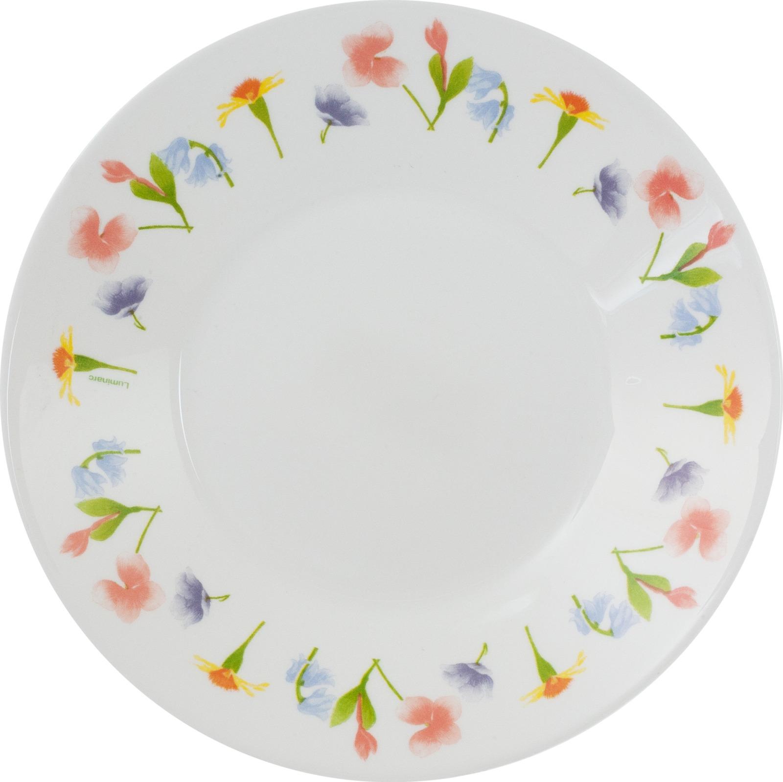 Тарелка глубокая Luminarc Армуаз, N1014, белый, диаметр 23 см тарелка глубокая luminarc ализэ перл n4836 белый диаметр 23 см