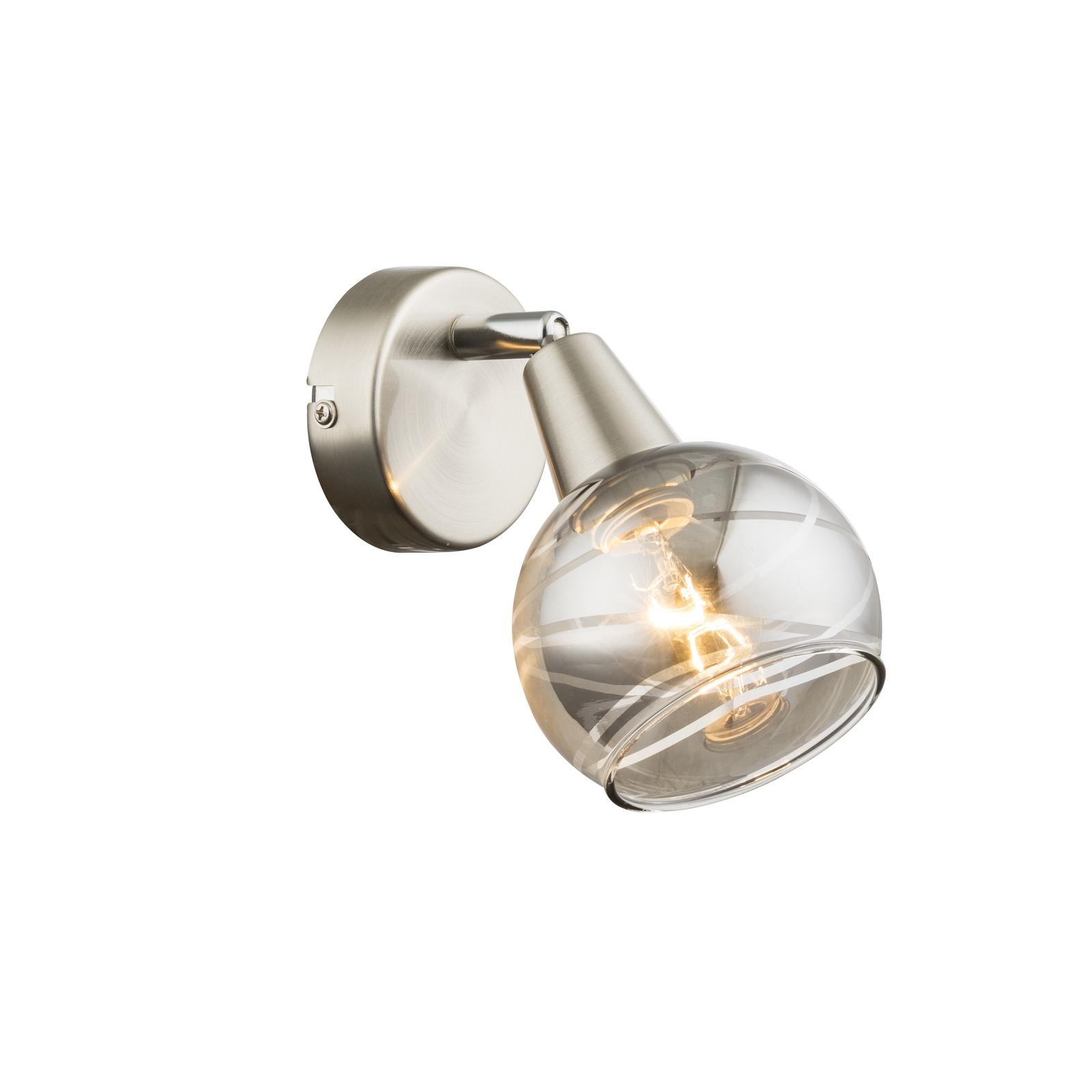 Настенно-потолочный светильник Globo Roman, серый потолочный светильник globo ugo серый