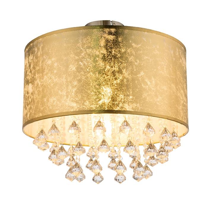 Потолочный светильник Globo Amy, золотой потолочный светильник globo 48403