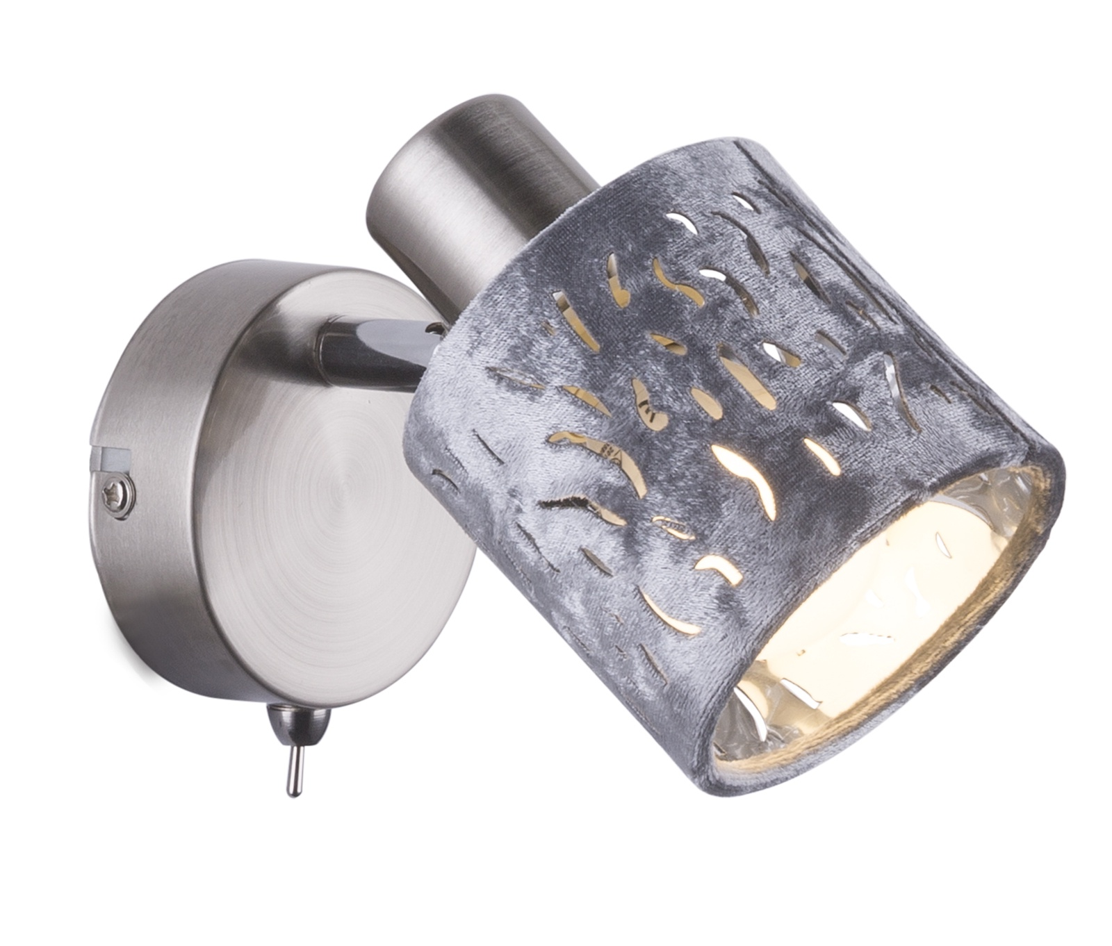 Настенно-потолочный светильник Globo Alys, серый потолочный светильник globo ugo серый