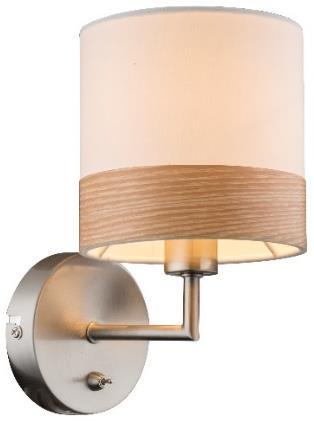 лучшая цена Настенный светильник Globo Chipsy
