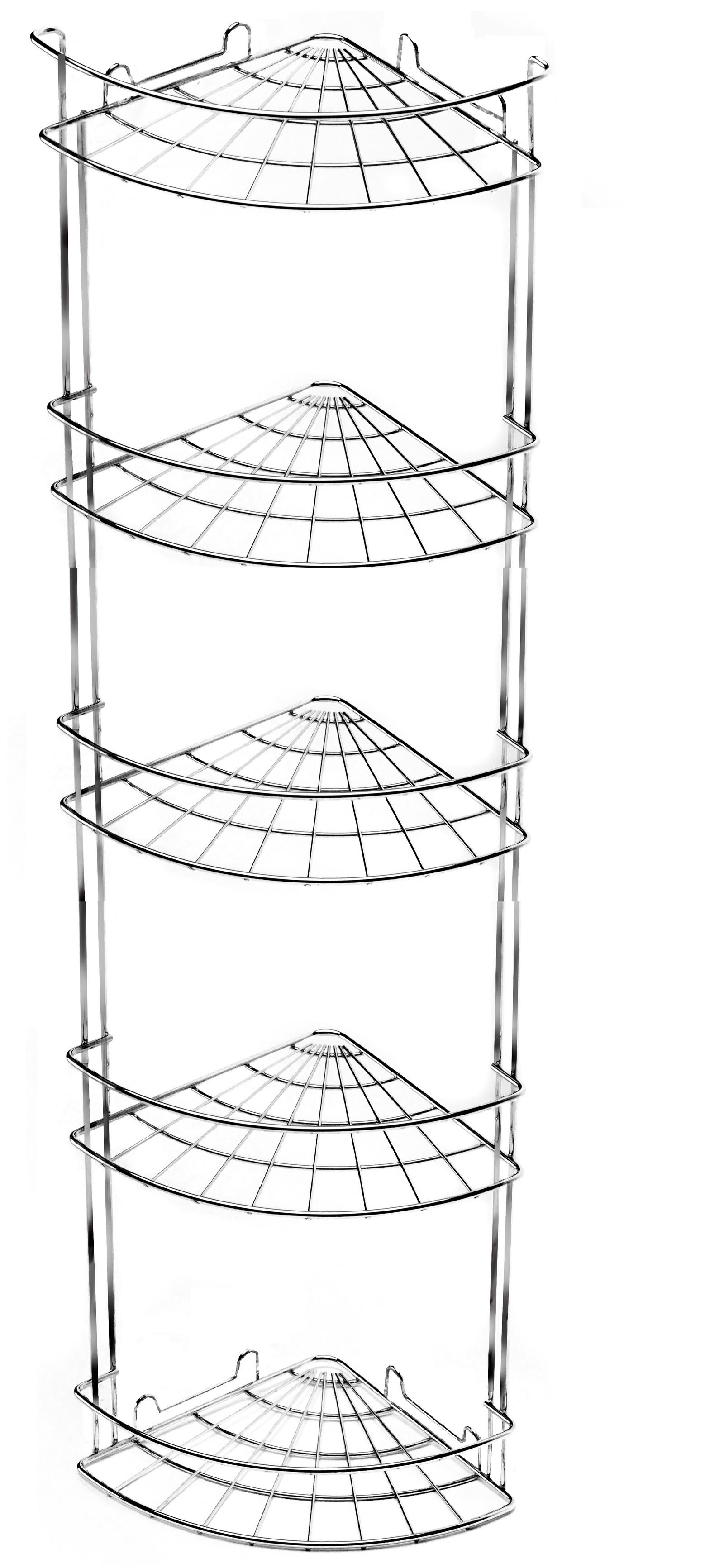 Полка для ванной комнаты Vanstore 035-00, серебристый полка для ванной комнаты vanstore 061 77 серебристый