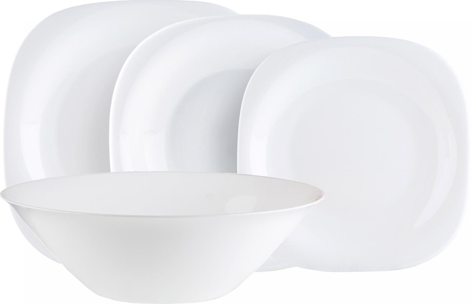 Набор столовой посуды Luminarc Карин, N2185, белый набор столовой посуды luminarc нью карин n2955 белый черный