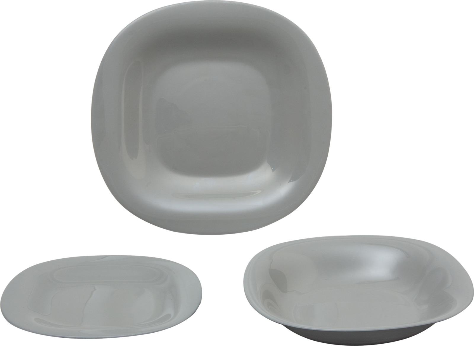 Набор столовой посуды Luminarc Карин Гранит, N7665, серый набор столовой посуды luminarc нью карин n2955 белый черный