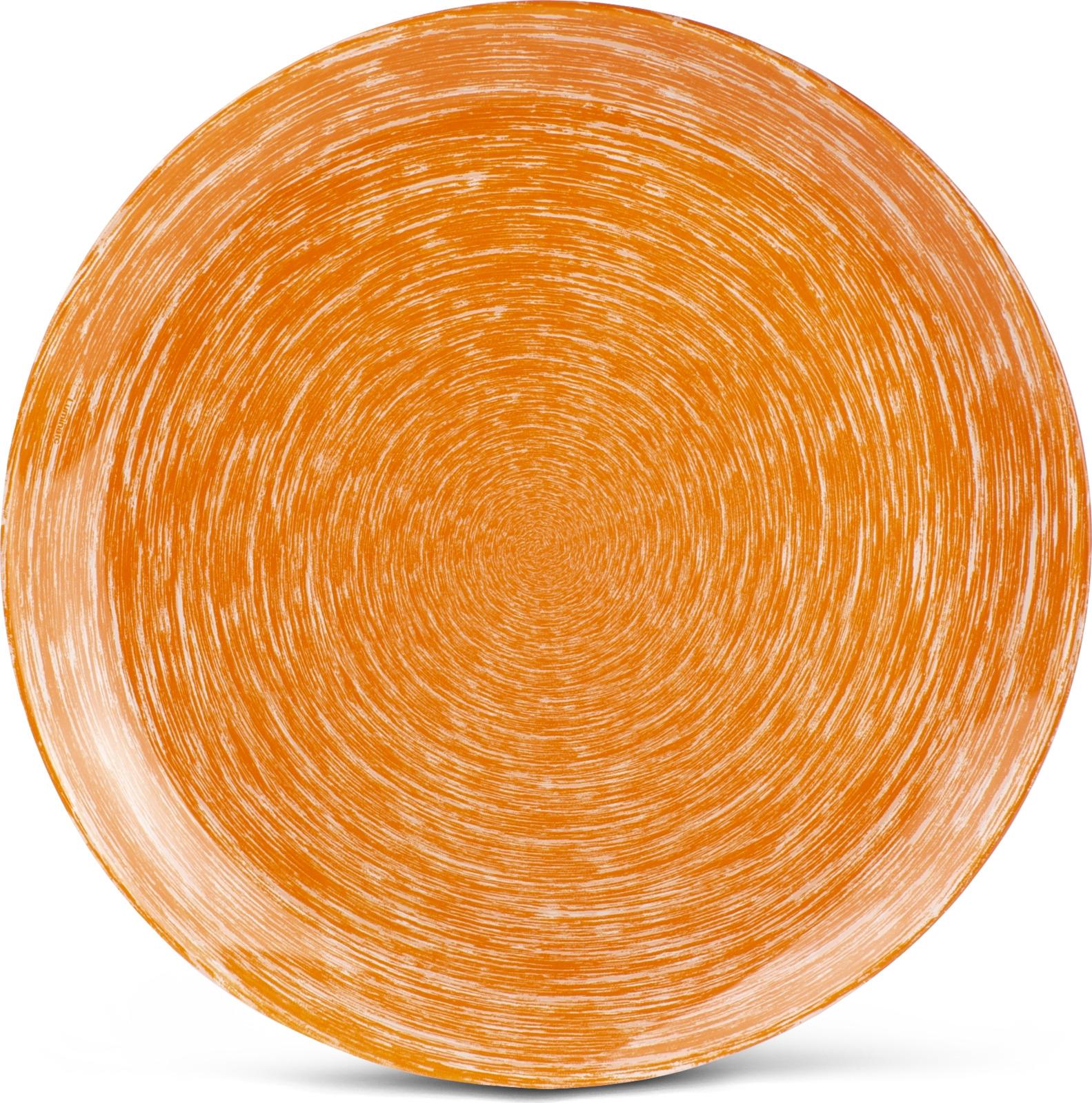 Тарелка Luminarc Брашмания, P1401, оранжевый, диаметр 26 смP1401ТарелкаLuminarcидеально подойдет для сервировки вторых блюд из птицы, рыбы, мяса или овощей, а также станет отличным подарком к любому празднику.