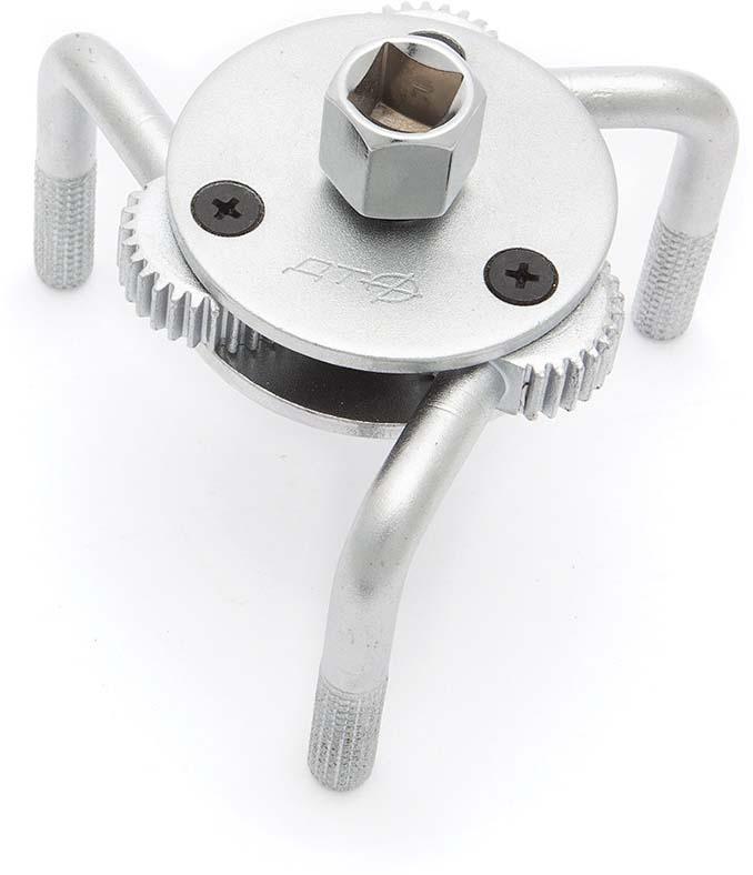 Съемник Дело техники масляных фильтров, трехлапый, O 70-120 мм, 800220