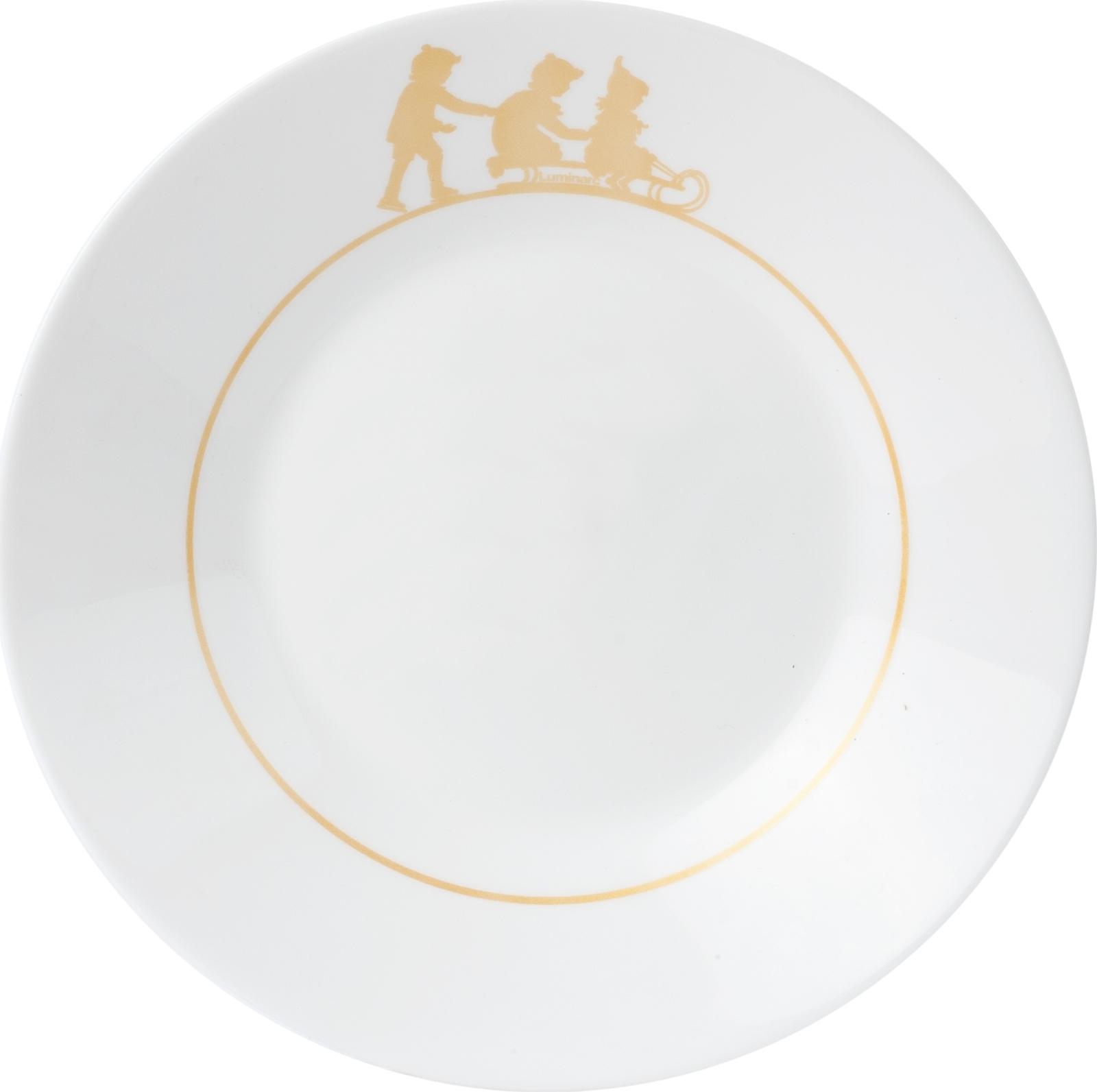 Тарелка глубокая Luminarc Инна, P1497, белый, диаметр 23 см тарелка глубокая luminarc ализэ перл n4836 белый диаметр 23 см